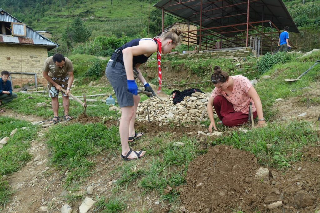 3.17. Obóz Nepal - służba w Bangthali