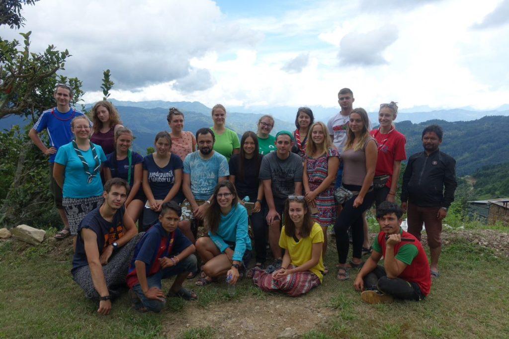 3.18. Obóz Nepal - kursanci z KDW i Labo w Bangthali