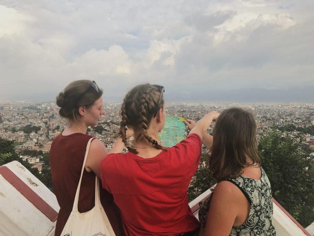 3.28. Obóz Nepal - widok na Kathmandu ze Świątyni Małp