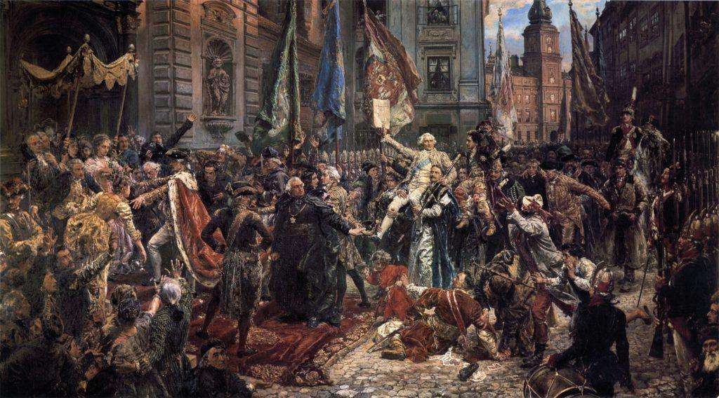 Konstytucja 3 maja 1791 roku, Jan Matejko