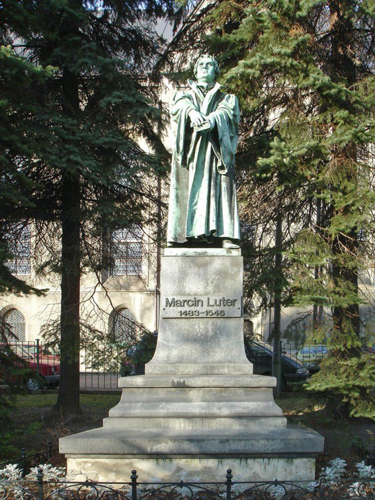 Pomnik Marcina Lutra w Bielsku-Białej/Wikimedia Commons, CC BY 2.5