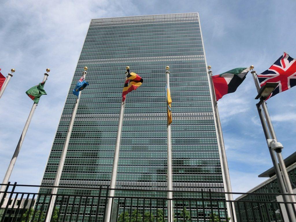 pixabay.com/ siedziba ONZ w Nowym Jorku